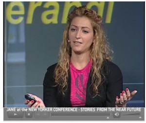 Jane McGonigal speaks on Saving the World Through Game Design