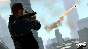 GTA4 in movie sequence